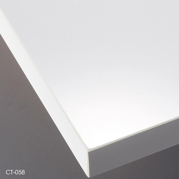 艶有ブラック 共貼り 艶無しホワイト メラミン化粧板 オーダー カスタマイズ 艶無しブラック テーブル天板 業務用 艶有ホワイト こちらは最小サイズの価格です お好みサイズ W~500×D~500mm