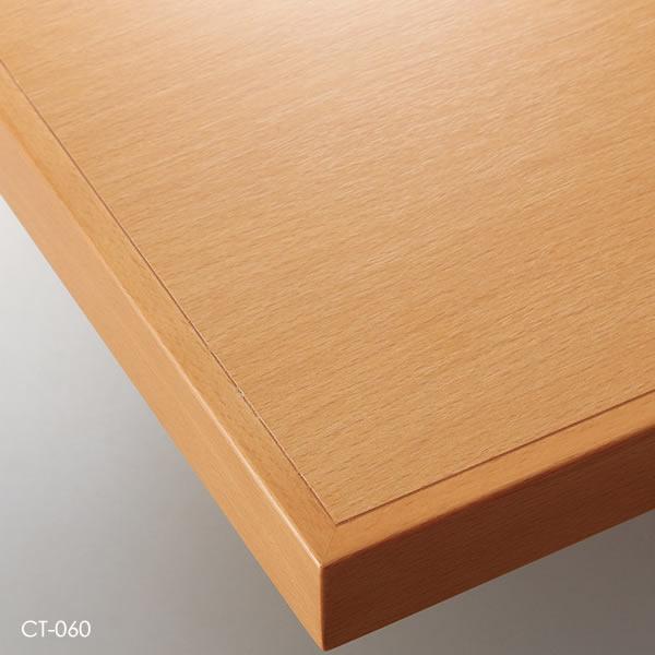 業務用 テーブル天板 オーダー カスタマイズ お好みサイズ ナチュラル ブラウン ダークブラウン ブラック メラミン化粧板 木縁巻き W~500×D~500mm こちらは最小サイズの価格です