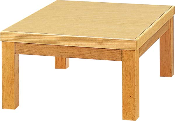 【送料無料】 座卓 丈夫なメラミン天板 シンプル 和室 選べる3色 W600mm