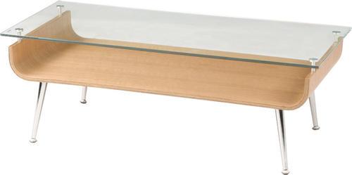 ★ガラス天板 ローテーブル W96cm【送料無料】