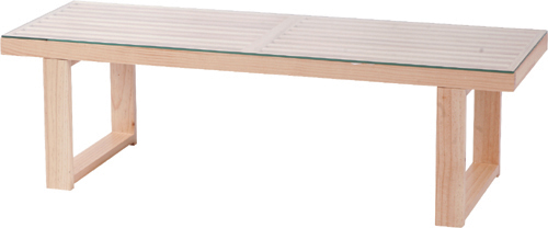 ★ガラス天板 ローテーブル W115cm【送料無料】