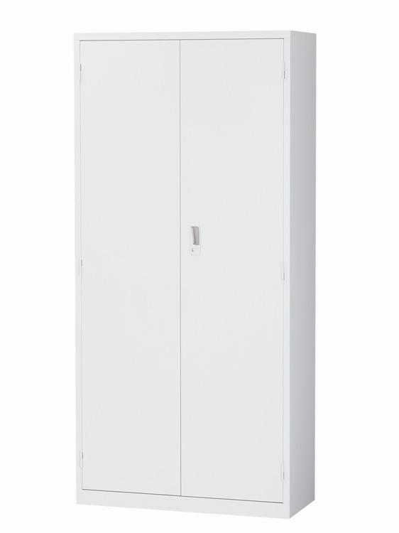 両開き書庫 5段書庫 A4対応 下置き用 ベース一体型 完成品 送料無料 W880xD380xH1860 ALZ-H36 新品 オフィス家具 鍵付