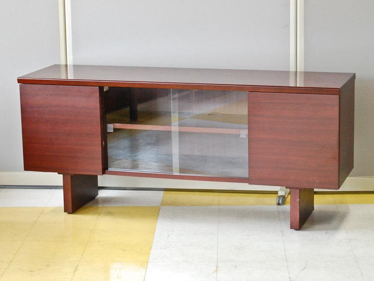 サイドボード ローボード 木製家具 役員用家具 応接家具 社長室家具 中古 イトーキ製 HXL-07FDR-18 中古 オフィス家具