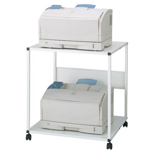 プリンタラック OAテーブル プリンター台 移動式テーブル サンワサプライ製 W650xD600xH700 GW-650PR 新品 オフィス家具 キャスター付