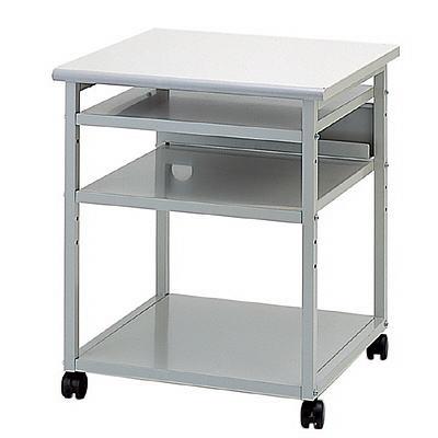 初売りセール! プリンタラック OAテーブル プリンター台 移動式テーブル ナカバヤシ製 W600xD600xH700 RPX-61 新品 オフィス家具 キャスター付