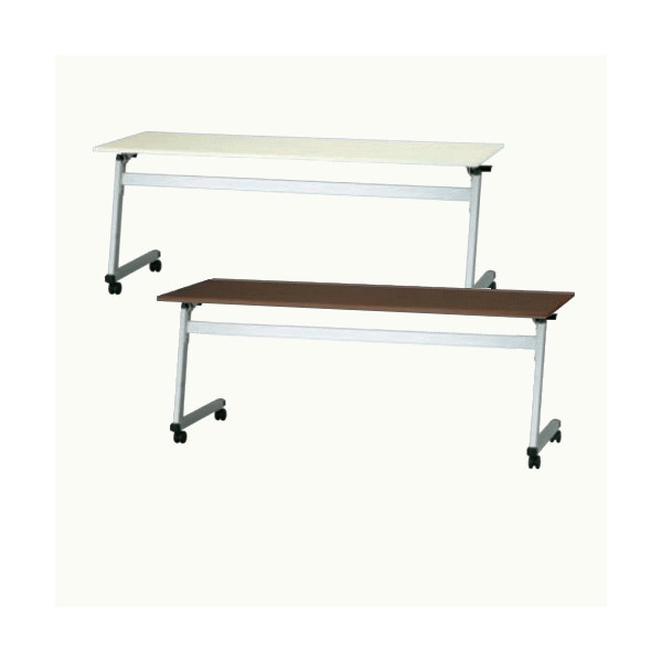 スタックテーブル 会議テーブル ミーティングテーブル 折りたたみテーブル 並行スタック 会議机 移動式テーブル トヨセット製:STKシリーズ 送料無料 W1800xD450xH700 STK-1845 新品 オフィス家具