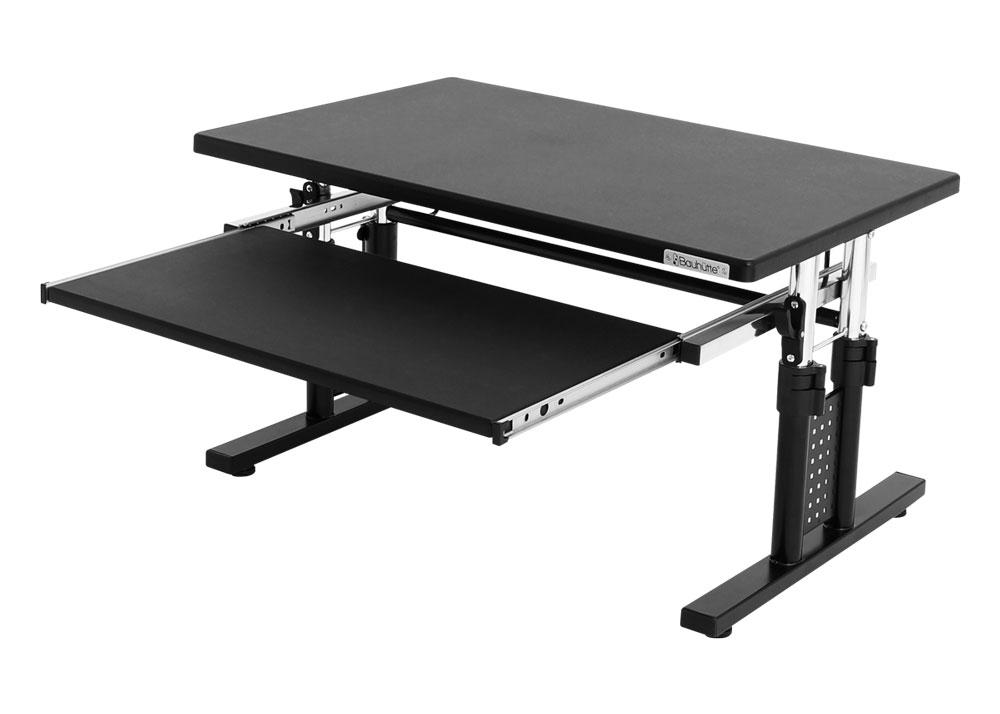 デスク ロータイプ ローデスク サイドテーブル 天板上下昇降(39~49cm)機能付き Be's製:Bauhutteシリーズ 送料無料 W700xD450xH390 BHD-700L 新品 オフィス家具