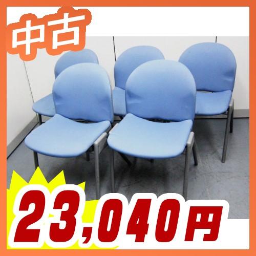 ミーティングチェア スタッキング 会議用チェアセット コクヨ製:イクスチェアシリーズ