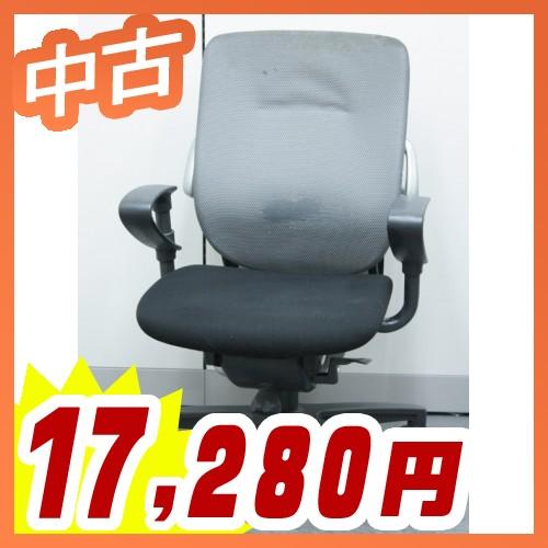 オフィスチェア 事務椅子 会議チェア ハイバック ビジネスチェア マネージメントチェア イトーキ製:レビーノシリーズ