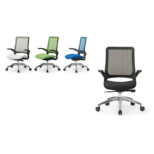 オフィスチェア 事務椅子 PCチェア デスクチェア 肘付 AICO製:MA-1600シリーズ MS-1695 新品 オフィス家具