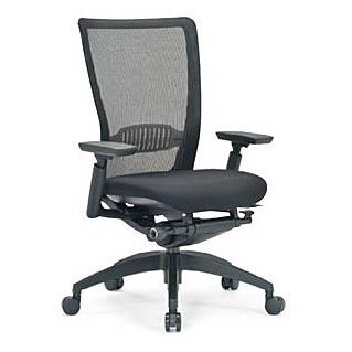 オフィスチェア 事務椅子 PCチェア デスクチェア 肘付 アイコ AICO製:R-5700シリーズ R-5715 新品 オフィス家具 可動肘付