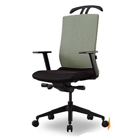 オフィスチェアー マネージメントチェア ハイバック 固定肘付き ハンガー付き 事務椅子 ランバサポート付き 特選 法人限定 アイリスチトセ製:CREAシリーズ T-CREA-H1-G 新品 オフィス家具 ご奉仕価格! 期間限定 全2色