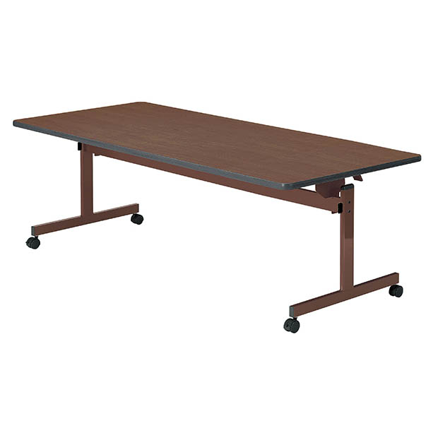 福祉施設向けテーブル フラップ式+固定脚タイプ 介護 井上金庫製:UFT-KFシリーズ UFT-KF1890 新品 オフィス家具