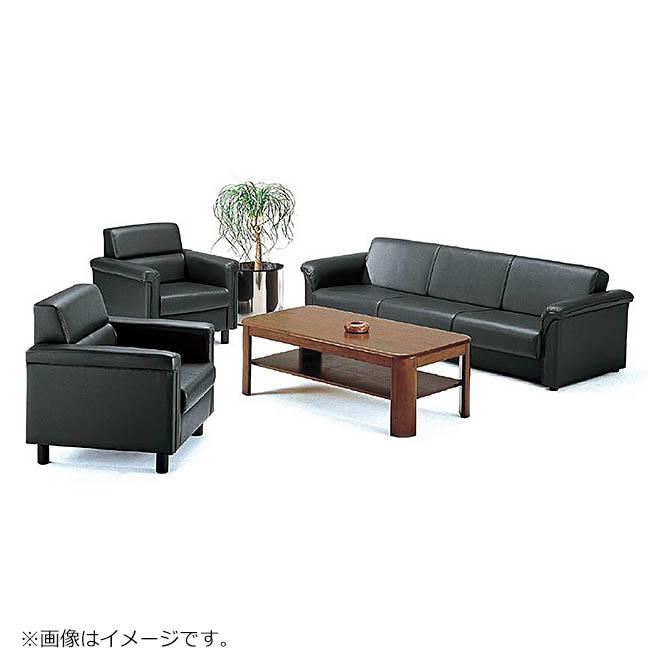 受注生産品 応接セット ソファ&テーブルセット 5人掛け 4点セット ソファベッド TOKIO製 F-9 新品 オフィス家具