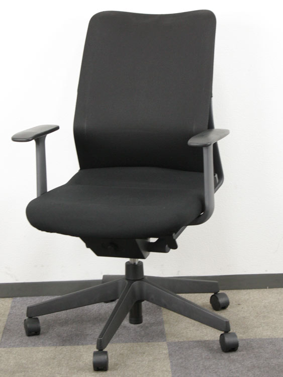 オフィスチェア ローバック T肘付き ビジネスチェア 事務イス マネージメントチェア 中古チェア コクヨ製:AGATA/S アガタシリーズ CRS-G800 中古 セット オフィス家具 お勧め商品