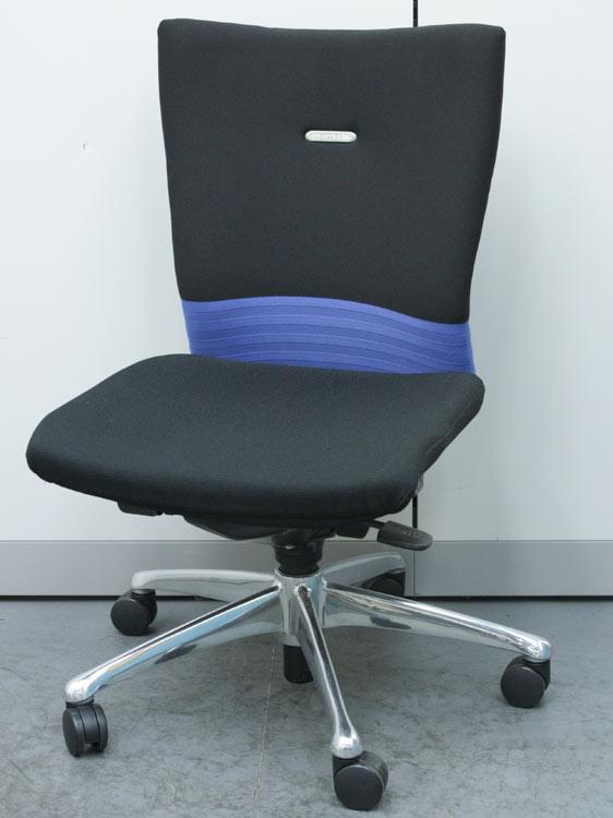 オフィスチェア ミドルバック シームレスタイプ ビジネスチェア マネージメントチェア オカムラ製:フィーゴシリーズ CJ33BR-FAM4 中古 セット オフィス家具