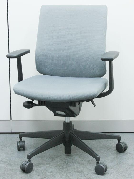 オフィスチェア T字肘付 樹脂タイプ 事務椅子 ビジネスチェア マネージメントチェア 中古チェア コクヨ製:ウィザードシリーズ CRS-G1800F6 中古 セット オフィス家具