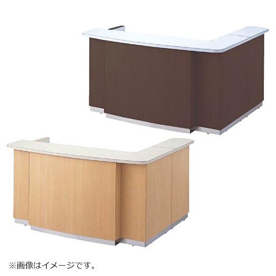 インフォメーションカウンター 奥行D1540mm 有人タイプ ハイカウンター 中天板付き 日本製 完成品 セイコー製 W1800xD1540xH950 CIG-180L 新品 オフィス家具