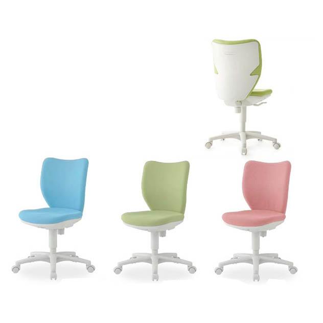 オフィスチェアー 背もたれロッキングタイプ 回転椅子 肘なし ナイロンキャスター アイリスチトセ製:BIT-WXシリーズシリーズ T-BIT-X45L0-F 新品 オフィス家具 全3色