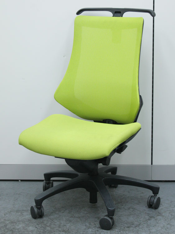 オフィスチェア 事務椅子 マネージメントチェア メッシュチェア ハンガー付 中古チェア イトーキ製 KF-370JBH-T1D3 中古 セット オフィス家具