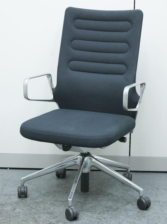 ワークチェア ハイバック AC4 アームチェア オフィスチェア マネージメントチェア Vitra製 中古 セット オフィス家具 デザイナーズ家具