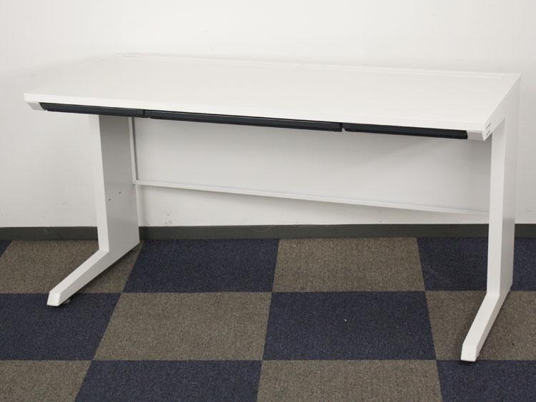 平デスク ワークデスク パソコンデスク 事務机 奥行600 デスク スチールデスク スチール机 中古デスク イトーキ製:CZRシリーズ W1400xD600xH720 CZR-146HAC-9W9 中古 セット オフィス家具