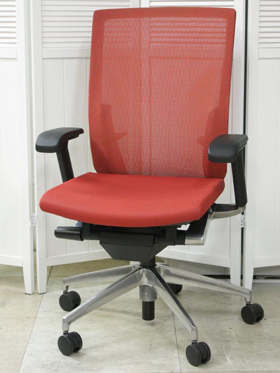 オフィスチェア マネージメントチェア 高機能チェア 役員用椅子 高級チェア 中古チェア 完成品 イトーキ製:ヴェント Ventoシリーズ KE-867JB-Z9D6 中古 セット オフィス家具