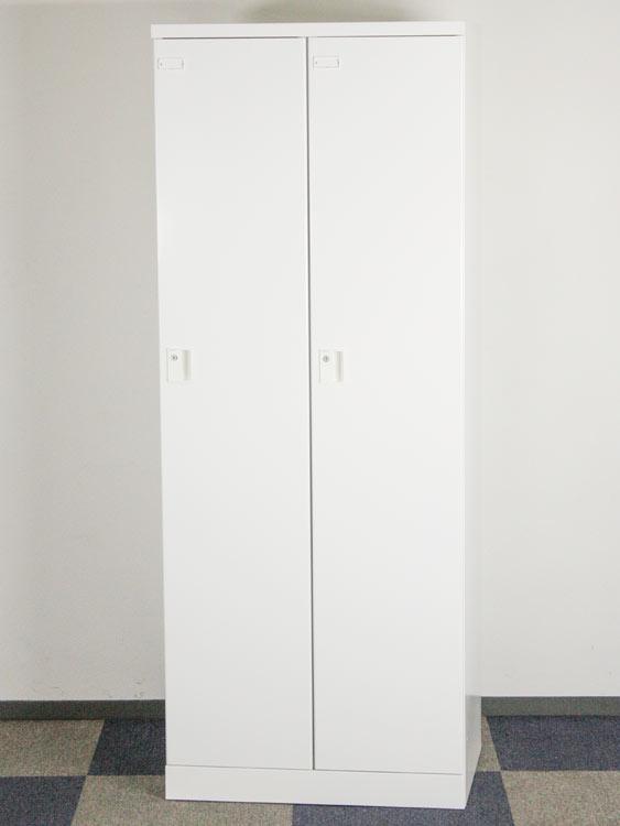 2人用ロッカー ワイドタイプ 扉W350 アウトレット 未使用品 スチールロッカー 多人数用ロッカー オフィス収納 コクヨ製:ZLKシリーズ W700xD515xH1792 ZLK-LN235 SAW アウトレット オフィス家具 未使用品 鍵付