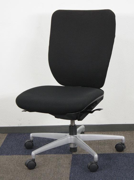 オフィスチェア ハイバック アルミ脚 マネージメントチェア ビジネスチェア 事務イス 中古チェア イトーキ製:プラオ PRAOシリーズ KE-235GH-Z5T1 中古 セット オフィス家具
