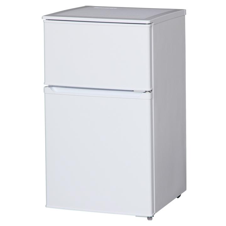 【送料無料】【冷蔵庫 2ドア】2ドア冷凍冷蔵庫 直冷式タイプ【アイリスオーヤマ】【キッチン家電 一人暮らし 新生活 れいぞう庫 食糧保存】 IRR-A09TW-W・ホワイト【D】