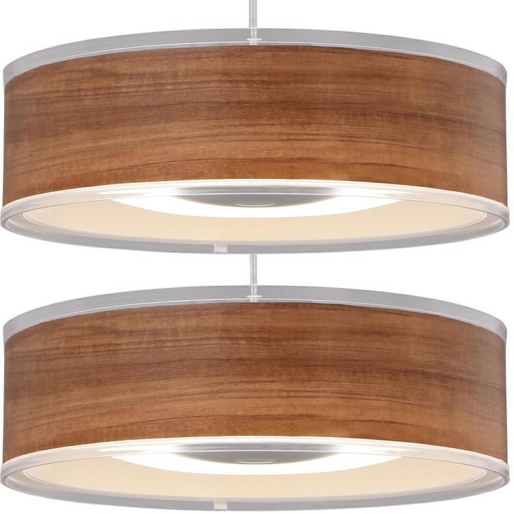 【2個セット】デザインペンダントライト メタルサーキットシリーズ 浅型 12畳 調光 PLM12D-ADWN・O ウォールナット ホワイトオーク LEDペンダントライト LEDシーリングライト LEDライト シーリングライト LED照明 LED 照明 アイリスオーヤマ 新生活