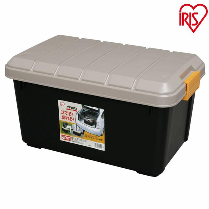 お得な6個セット RVBOX エコロジーカラー 600 カーキ/ブラック ハードケース 屋外収納 工具入れ トランク収納 車 ガーデン RVボックス 新生活