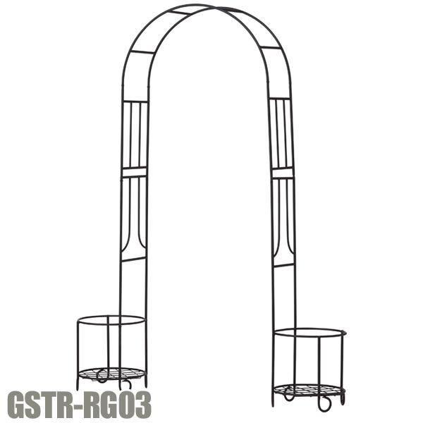 【送料無料】G-story アーバンアーチ GSTR-RG03 ブラック【D】 ガーデン 雑貨【取寄せ品】 新生活