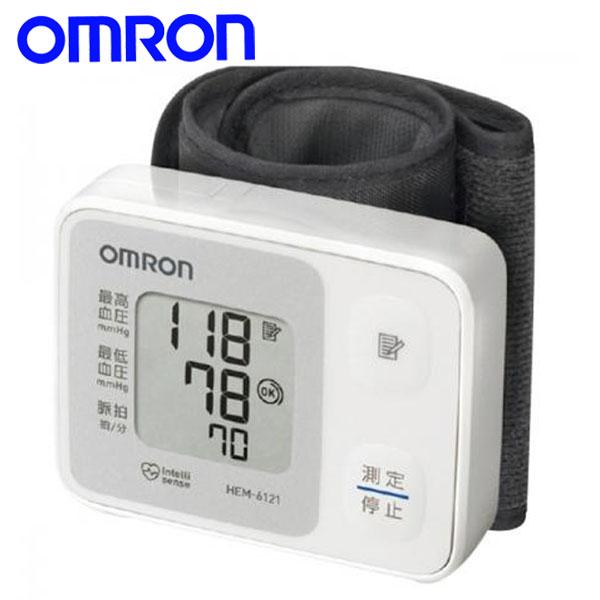 【送料無料】オムロン (OMRON) 手首式血圧計 HEM-6121 【TC】【健康家電/ギフト/プレゼント】