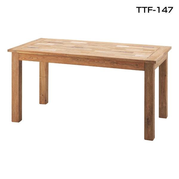 【送料無料】【TD】チル ダイニングテーブル TTF-147 天然木 木製テーブル ハイテーブル 木 食卓 無垢 北欧 シンプル モダン カントリー 北欧 【取寄せ品】【東谷】