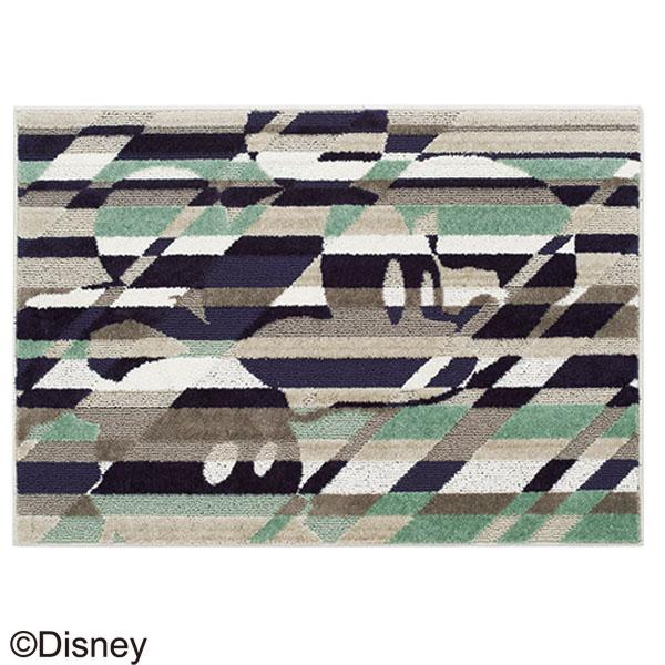 【カーペット ラグ マット】MICKEY/Cross cutting RUG DRM-1041 140×200 ラグ カーペット ディズニー ミッキー 日本製 防ダニ 耐熱加工 【TD】【スミノエ】【取り寄せ品】 新生活