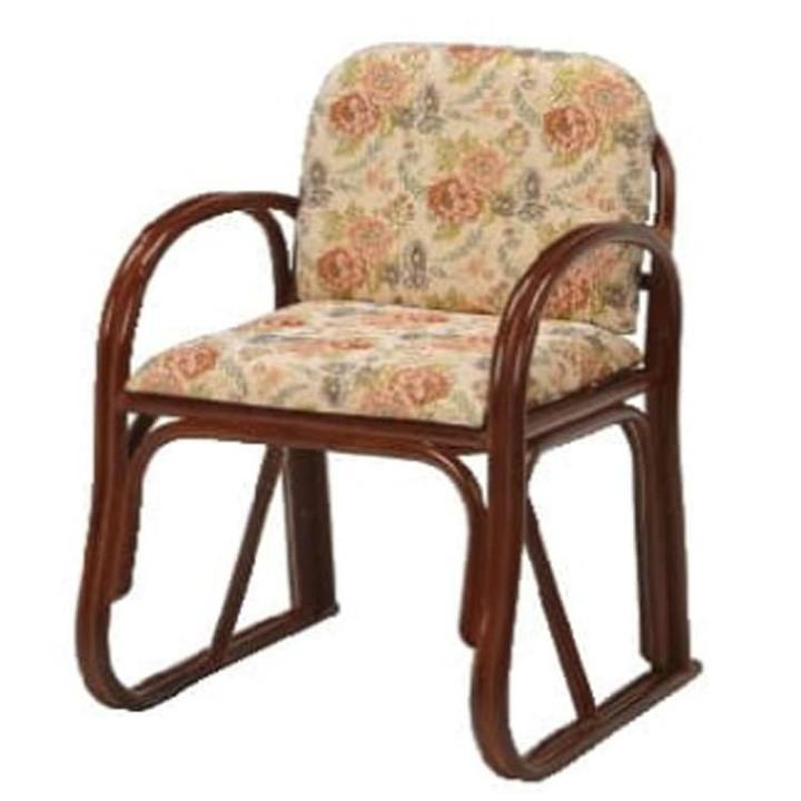 楽々座椅子 RZ-739H送料無料 座椅子 椅子 イス いす 籐製 ラタン おしゃれ 座椅子いす 座椅子おしゃれ 椅子いす いす座椅子 おしゃれ座椅子 いす椅子 【TD】 【代引不可】【取り寄せ品】 新生活