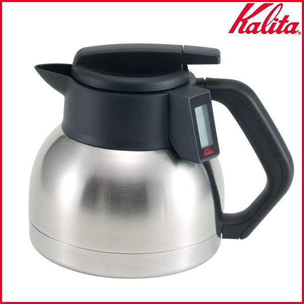 【送料無料】Kalita〔カリタ〕液晶サーモデカンター1.8L KTD-18 KTD-18【K】【D】【取寄せ品】 新生活