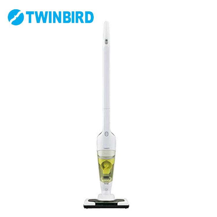 コードレススティック型クリーナー ホワイト TC-5109W送料無料 掃除機 スティッククリーナー ハンディクリーナー 充電式 一人暮らし 新生活 手軽 フロア 棚 TWINBIRD 【D】