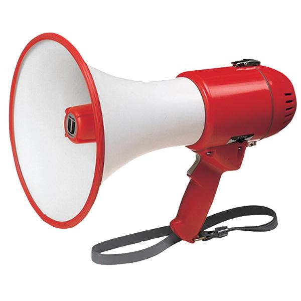 [5日20時~4時間P10倍]【送料無料】ユニペックス 〔UNI-PEX〕 15Wメガホン ホーンが丈夫な金属製メガホン TRM-119【KM】【TC】【取寄せ品】 新生活