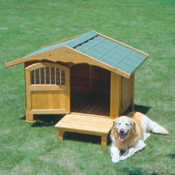 ロッジ犬舎 RK-1100 ブラウン ペットと暮らす 犬小屋 ハウス 飼育 ペットグッズ アイリスオーヤマ ペット用品・犬】【送料無料】 新生活
