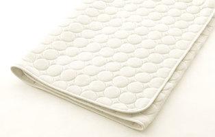 【お見積もり商品に付き、価格はお問い合わせ下さい】日本ベッド シリカドライパッドS シングルサイズ 100×200cm ベッドパッド 50751 さらさら ポリエステル 綿 吸収 放湿 抗菌 防臭 防ダニ加工