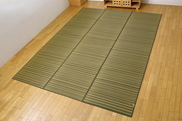 い草 ラグ カーペット 国産 ウレタン 240×320cm グリーン 純国産 い草ラグカーペット 送料無料