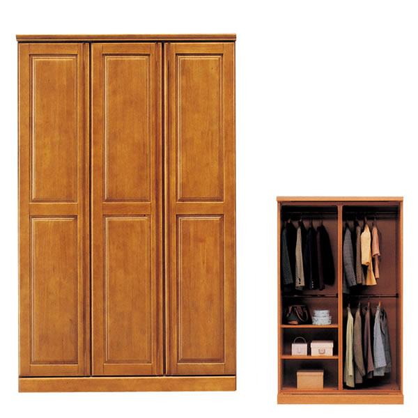 ジェロシリーズ120ワードローブ クローゼット 洋服掛け 衣類収納 収納家具【日時指定不可】