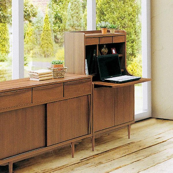 Writing Desk Ash 70 Multi Cabinet Bureau Study For Living Room Storage