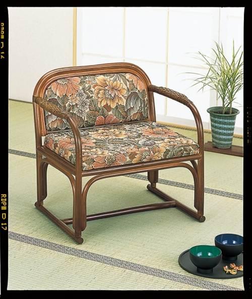 自然素材のやさしさに癒される。 籐便利座椅子 イス・チェア 籐製 送料無料