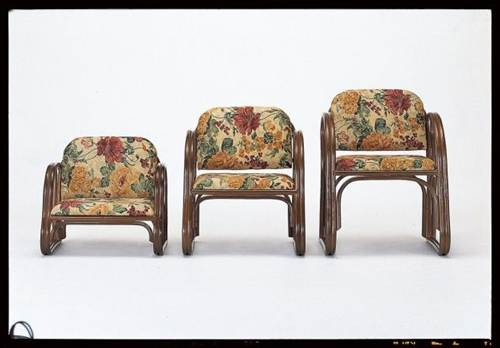 立ち座りが楽なゆったり広さの座椅子 籐思いやり座椅子 ハイタイプ イス・チェア 籐製 送料無料