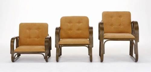 高座椅子 肘掛け付き 手すり、背もたれが付いて膝にやさしい快適座椅子 ワイド便利座椅子ハイタイプ 籐製 ラタン 送料無料