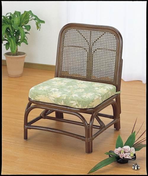 組あわせ・レイアウト自由自在! 籐チェアー イス・チェア 座椅子 籐製 送料無料