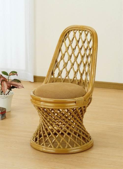 体を包み込んでくれます。 チェアー イス・チェア 座椅子 籐製 送料無料